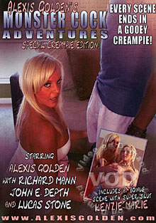 Alexis Golden's Monster Cock Adventures - Special Creampie Edition!