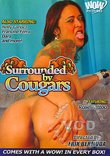 Surrounded By Cougars Box Cover