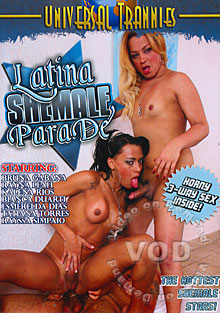 Latina Shemale Parade Box Cover