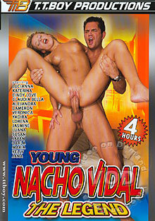 Young Nacho Vidal The Legend Box Cover