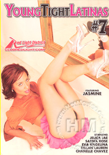 Young Tight Latinas #7 Box Cover