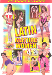 Latin Mature Women 4 Box Cover