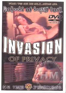 Invasion Of Privacy Box Cover