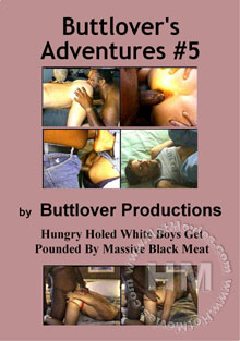 Buttlover's Adventures #5 Box Cover