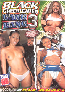 Black Cheerleader Gang Bang 3 Box Cover