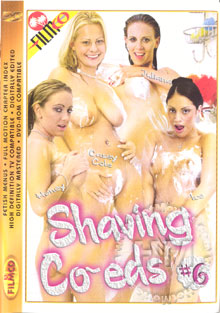 Shaving Co-eds #6 Box Cover