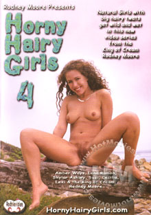 Horny Hairy Girls 4 Box Cover