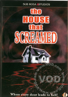 The House That Screamed Box Cover