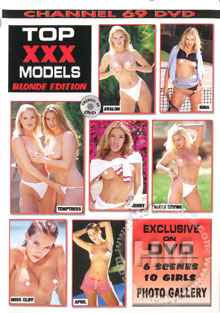 Top XXX Models Blonde Edition Box Cover