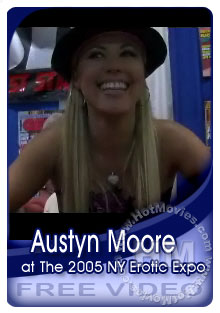 Austyn Moore Interview At The 2005 NY Erotic Expo