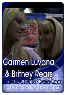 Carmen Luvana & Britney Rears At The 2005 NY Erotic Expo Box Cover