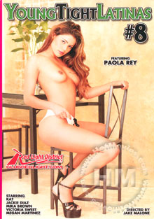 Young Tight Latinas #8 Box Cover