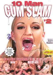 10 Man Cum Slam #2 Box Cover