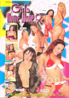 Girls Home Alone 9 Box Cover