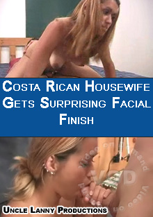 Costa Rican Housewife Gets Surprising Facial Finish Box Cover