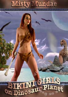Bikini Girls On Dinosaur Planet Box Cover