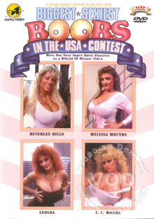 Biggest Sexiest Boobs In The USA Contest Box Cover