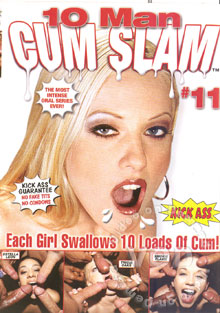 10 Man Cum Slam #11 Box Cover