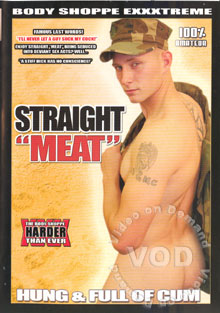 Straight Meat - Hung & Full Of Cum