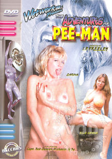 The Adventures Of Pee-Man Box Cover