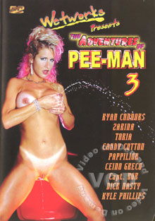 The Adventures Of Pee-Man 3 Box Cover