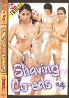 Shaving Co-eds #4 Box Cover