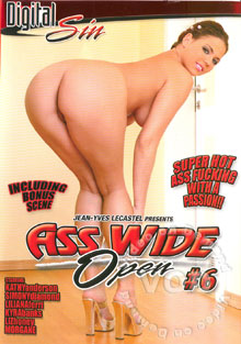 Ass Wide Open #6 Box Cover