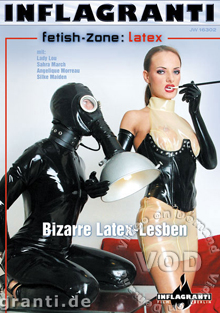 Fetish-Zone: Latex - Bizarre Latex - Lesben Box Cover
