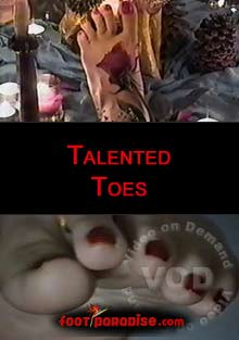 Talented Toes Box Cover