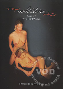ErocktaVision Volume 2 - West Coast Women Box Cover