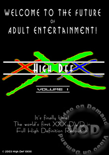 High Def XXX Volume 1 - Scene 2 Box Cover