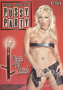 Cousin Stevie's Pussy Party 9: Lick This Box Cover