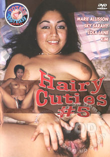 Hairy Cuties #5 Box Cover