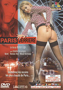 Paris Derriere  (The Back Streets of Paris) Box Cover