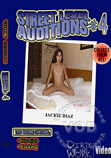 Street Level Auditions #4 Box Cover