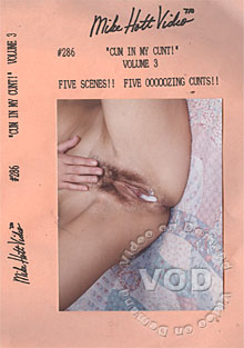Cum In My Cunt! Volume 3 Box Cover