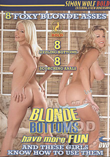 Blonde Bottoms Have More Fun Box Cover