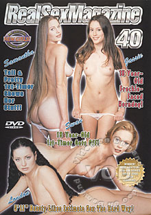 Real Sex Magazine 40 Box Cover