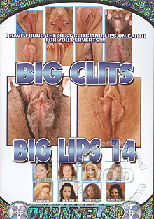 Big Clits Big Lips 14 Box Cover