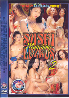 Sushi Munching Lezbos #2 Box Cover