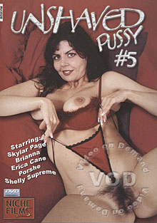 Unshaved Pussy #5 Box Cover