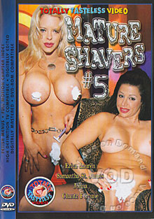 Mature Shavers #5 Box Cover