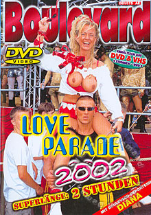Boulevard - Love Parade 2002 Box Cover
