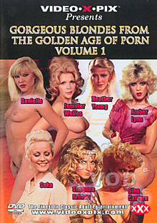Gorgeous Blondes From The Golden Age Of Porn Volume 1 Box Cover