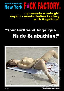 Your Girlfriend Angelique... Nude Sunbathing! Box Cover