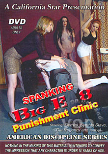 Spanking Big E 8: Punishment Clinic Box Cover
