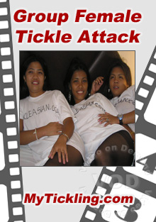 Group Female Tickle Attack Box Cover