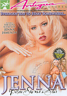 Jenna Before She Was A Star Box Cover