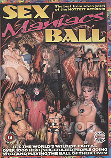 Sex Maniacs Ball Box Cover