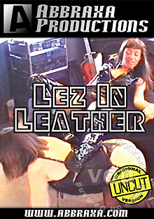 Lez In Leather Box Cover